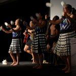 Maori welcome dance